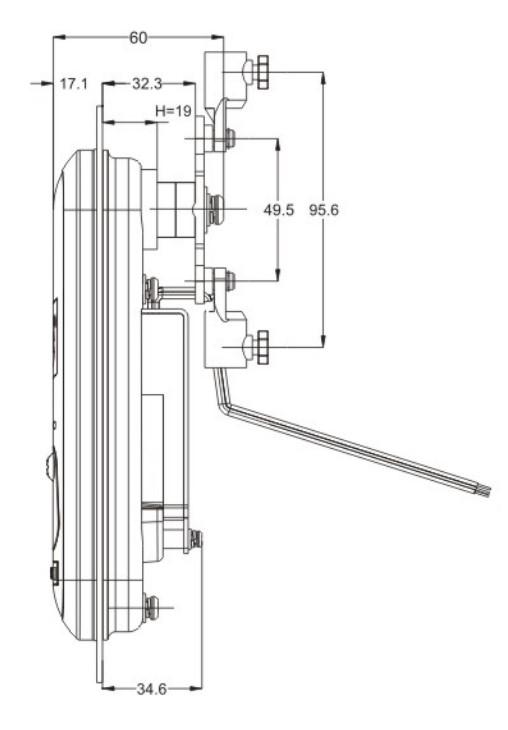 """产品概述: RV900LC-WR03整合型机柜锁是我公司的最新专利产品,在普通机柜锁、电控锁的基础上最新开发的高科技创新产品。它将""""读卡器""""、""""电控机柜锁""""等全部巧妙集中到""""机柜锁""""锁体内,使之""""一体化"""",方便安装、调试;具有网络联结的保安、监控功能,广泛使用于各种户外、室内中大型智能化电信机柜等要求实时监控的场所,它采用电子智能控制、非接触智能卡开锁,功能多、安全可靠。突出优点:集成度高、易安装、易升级、防水"""